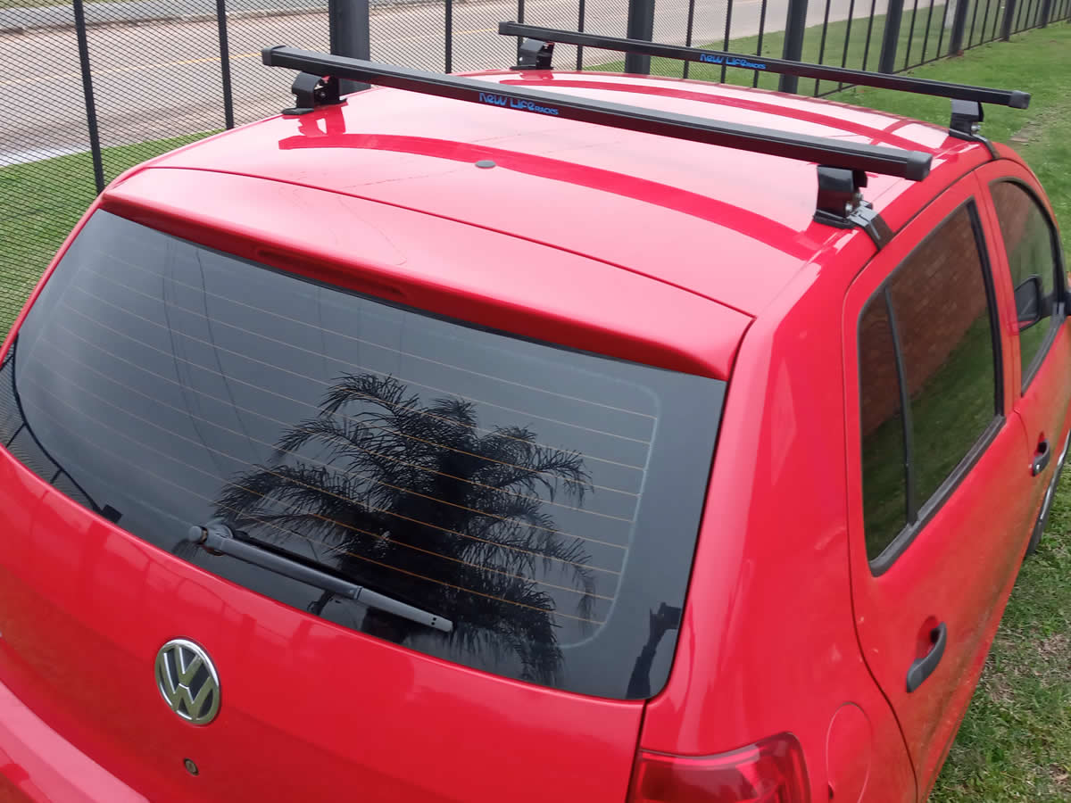 Rack Teto Bagageiro VW Fox 4 Portas New Life Aço