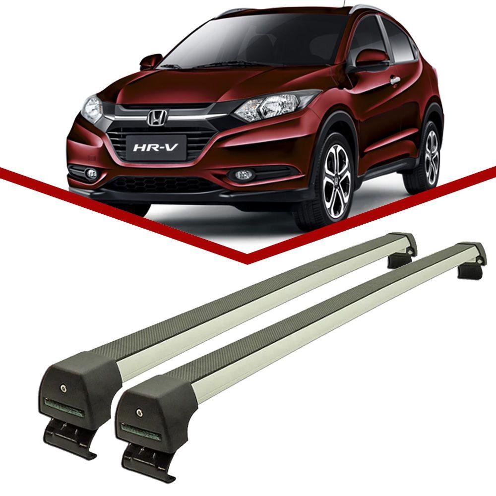 Rack Teto Honda WRV c/ longarina integrada Longlife Sports Aluminio  - Unicar