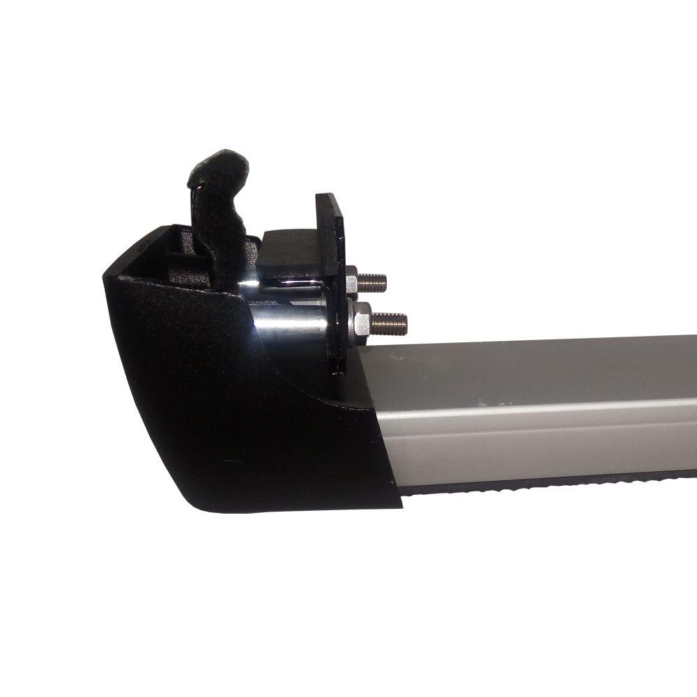 Rack Teto Longlife Sport Aluminio Honda City 2009 a 2014  - Unicar
