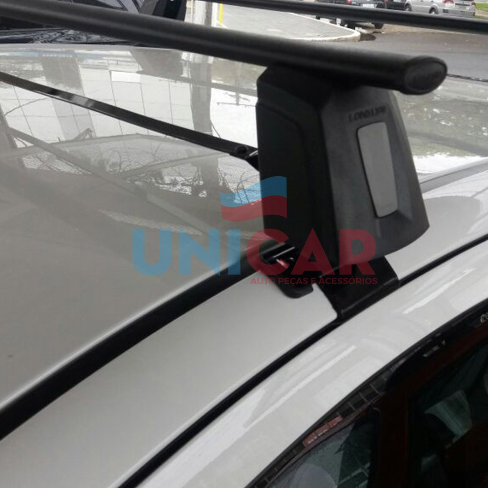 Rack Teto Bagageiro Onix Prisma 2013 a 2019 Todos Modelos Longlife Steel  - Unicar