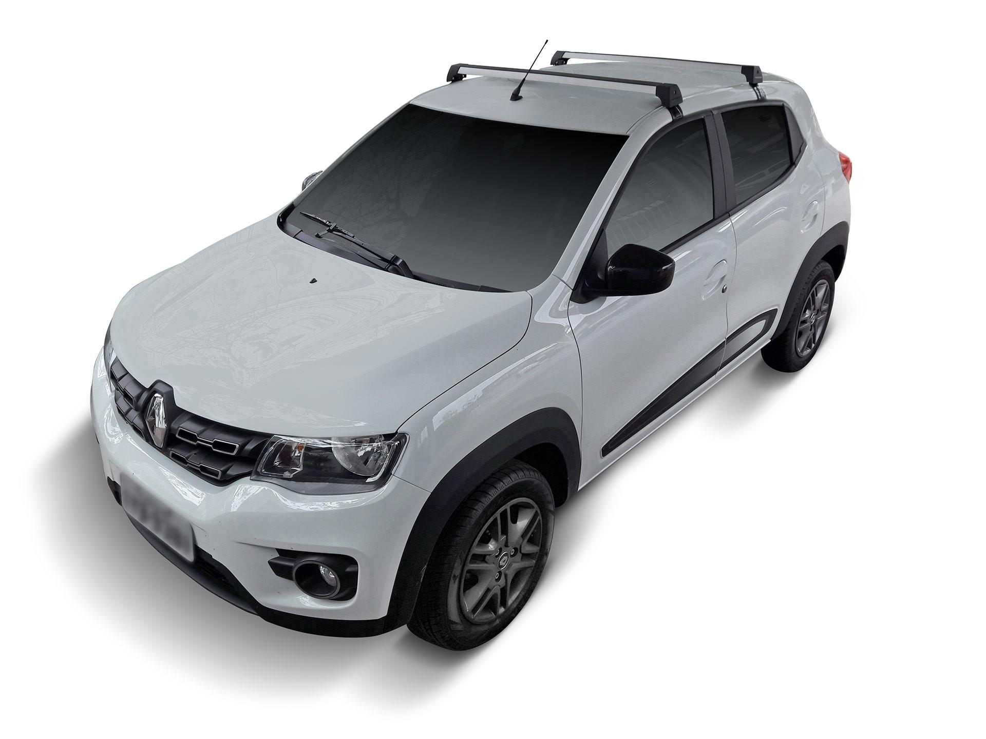 Rack Teto Travessa Renault Kwid Longlife Sports Aluminio
