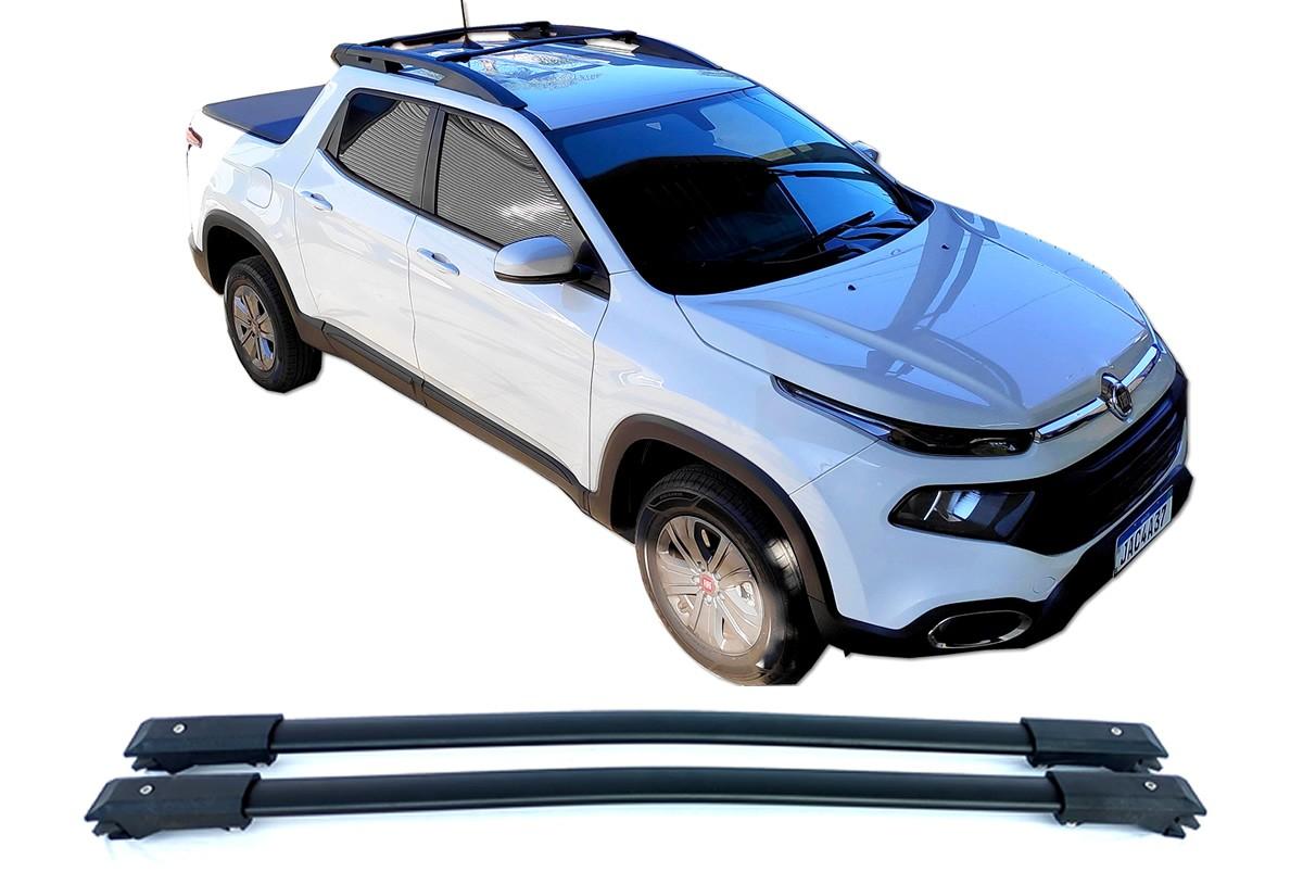 Rack Travessa Fiat Toro Com Longarina Teto LongLife  - Unicar