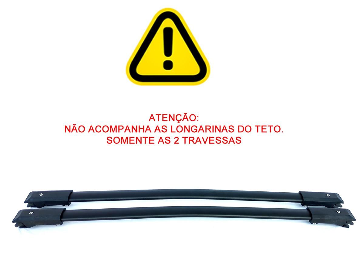 Rack Travessa Fiat Toro Com Longarina Teto LongLife