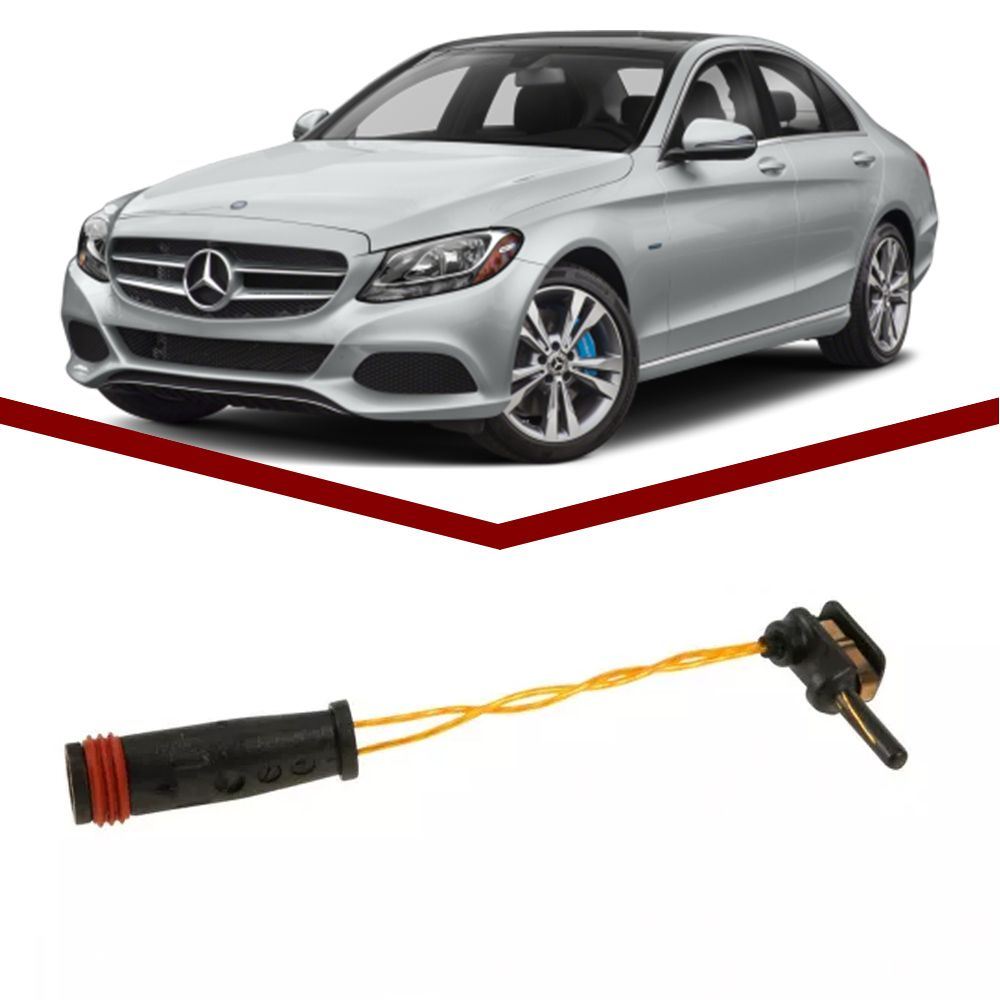 Sensor de Desgaste Pastilha Mercedes C180 C200 C230 C240 C280  - Unicar