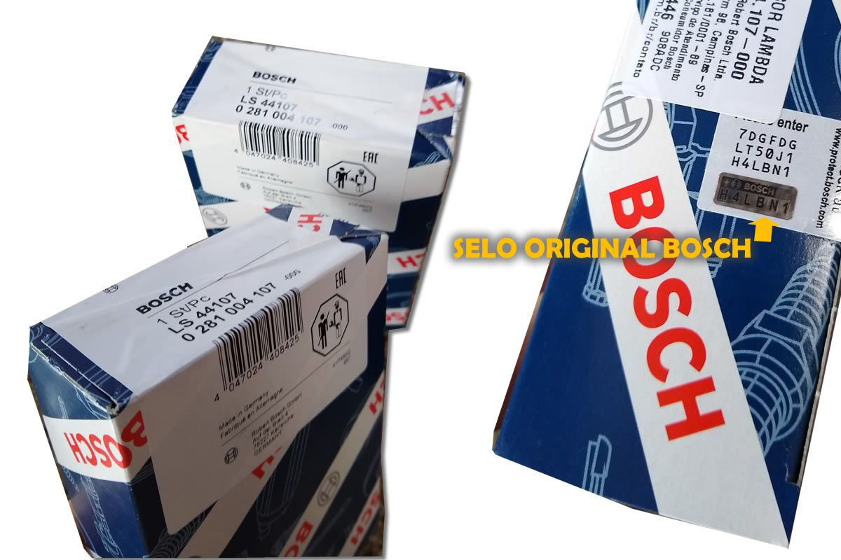 Sonda Lambda Banda Larga Wideband LSU 4.9 Bosch Tiguan Jetta Q3 Amarok 0281004107  - Unicar