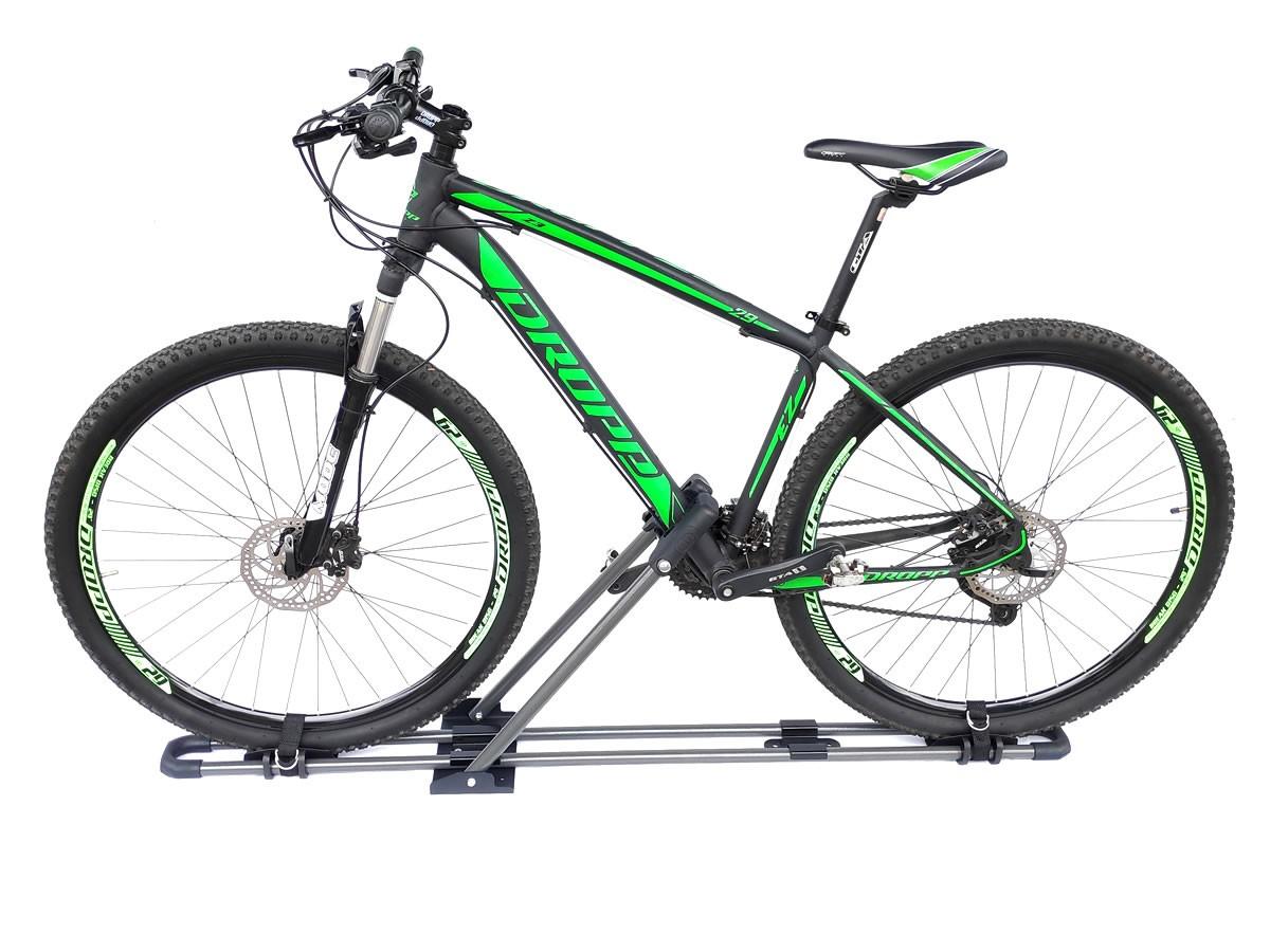 Suporte Calha Transbike Bicicleta Para Carros Pace Raptor Alumínio