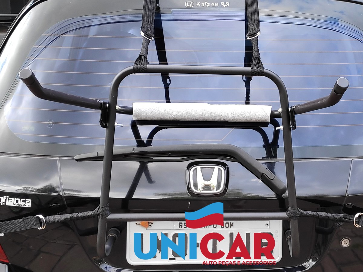 Transbike Suporte Universal Rack Para Porta Malas Para 2 Bikes  - Unicar