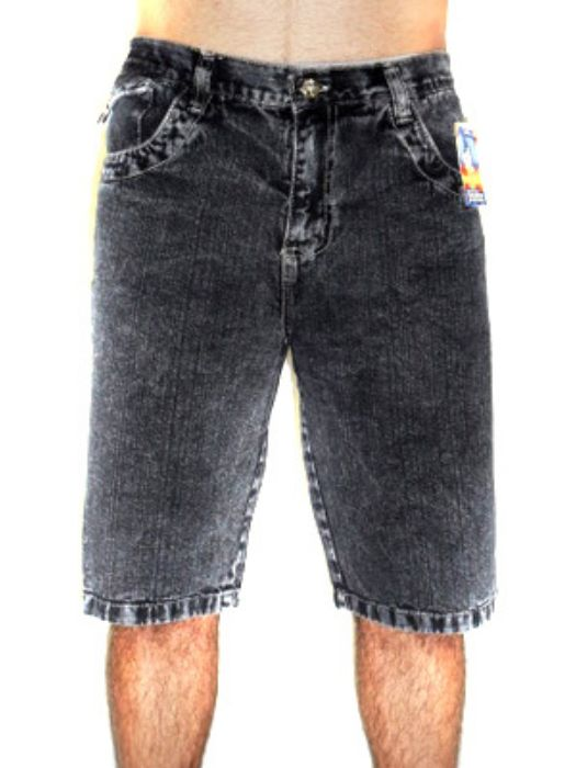 Bermuda Jeans Tradicional Masc Adulto - 046