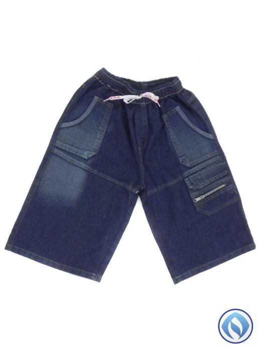 Bermuda Jeans Elástico Masc Juvenil  - 223