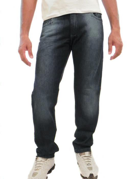 Calça Jeans Tradicional Bordada Masc Adulto 1055 - 288