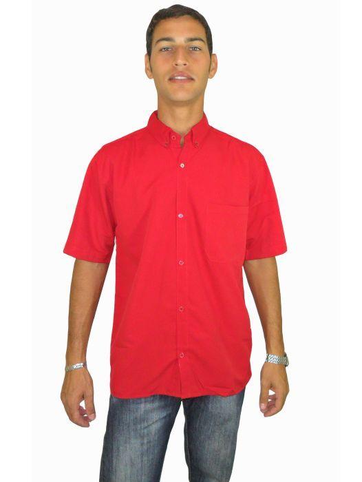 Camisa Social Lisa Masculina Adulto - 186