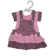 Jardineira/Vestido Algodão Infantil - 089