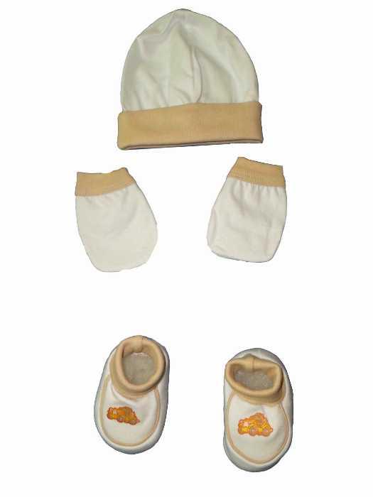 Kit Recém Nascido Bebê Pantufa - 386