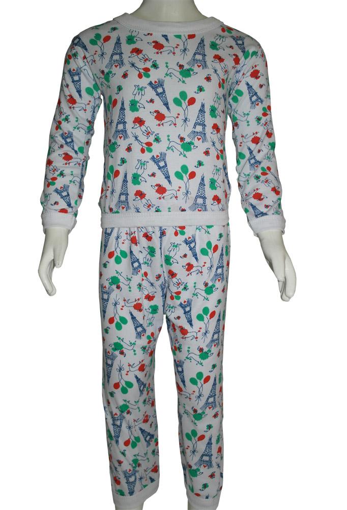 Pijama Algodão Masc. e Fem.  Infantil - 099