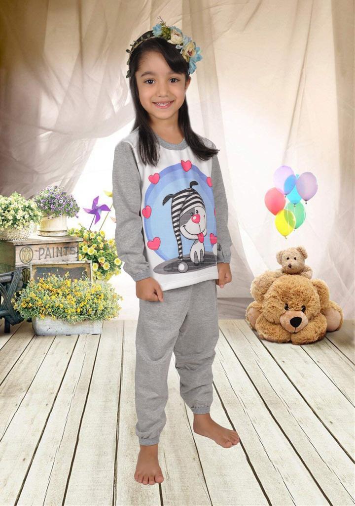 Pijama Moleton Fem-1051