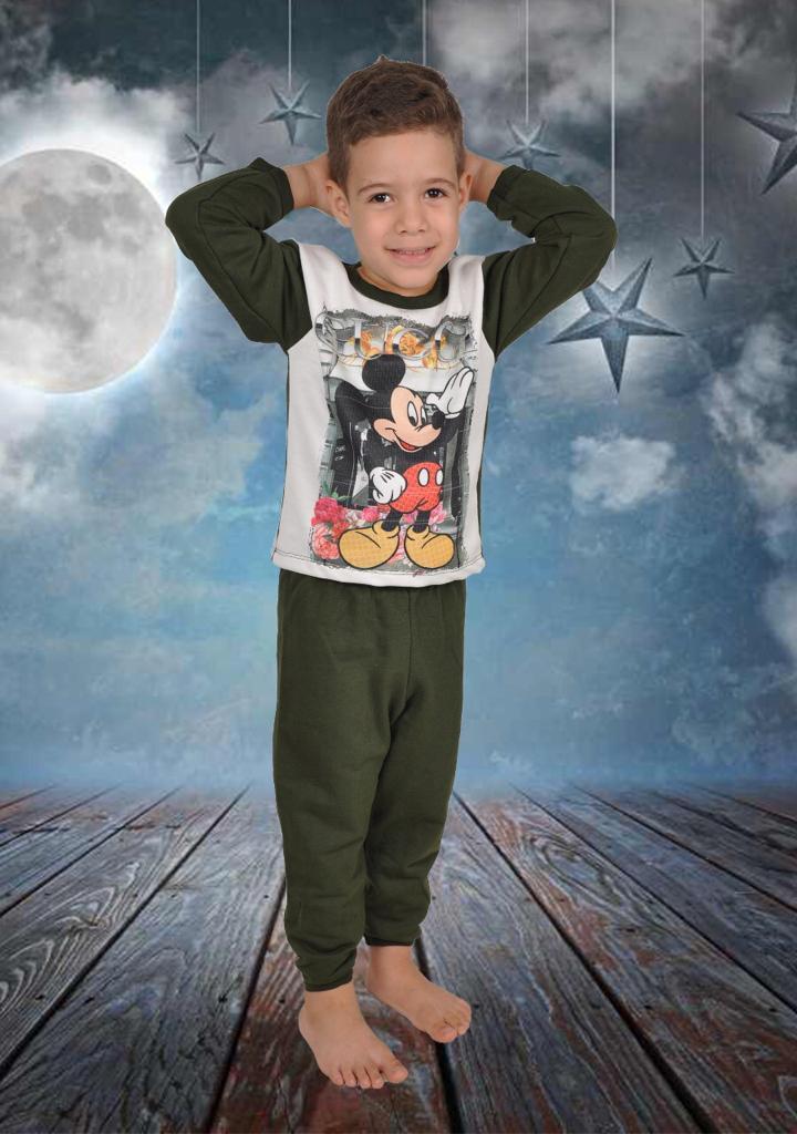 Pijama Moleton Mas-1050