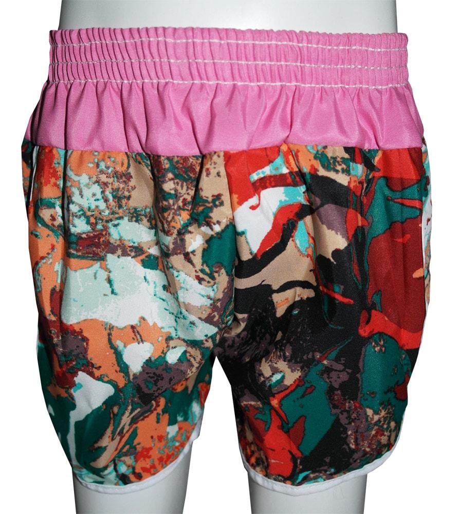 Short Poliester liso ou/e estampado Feminino Infantil - 239