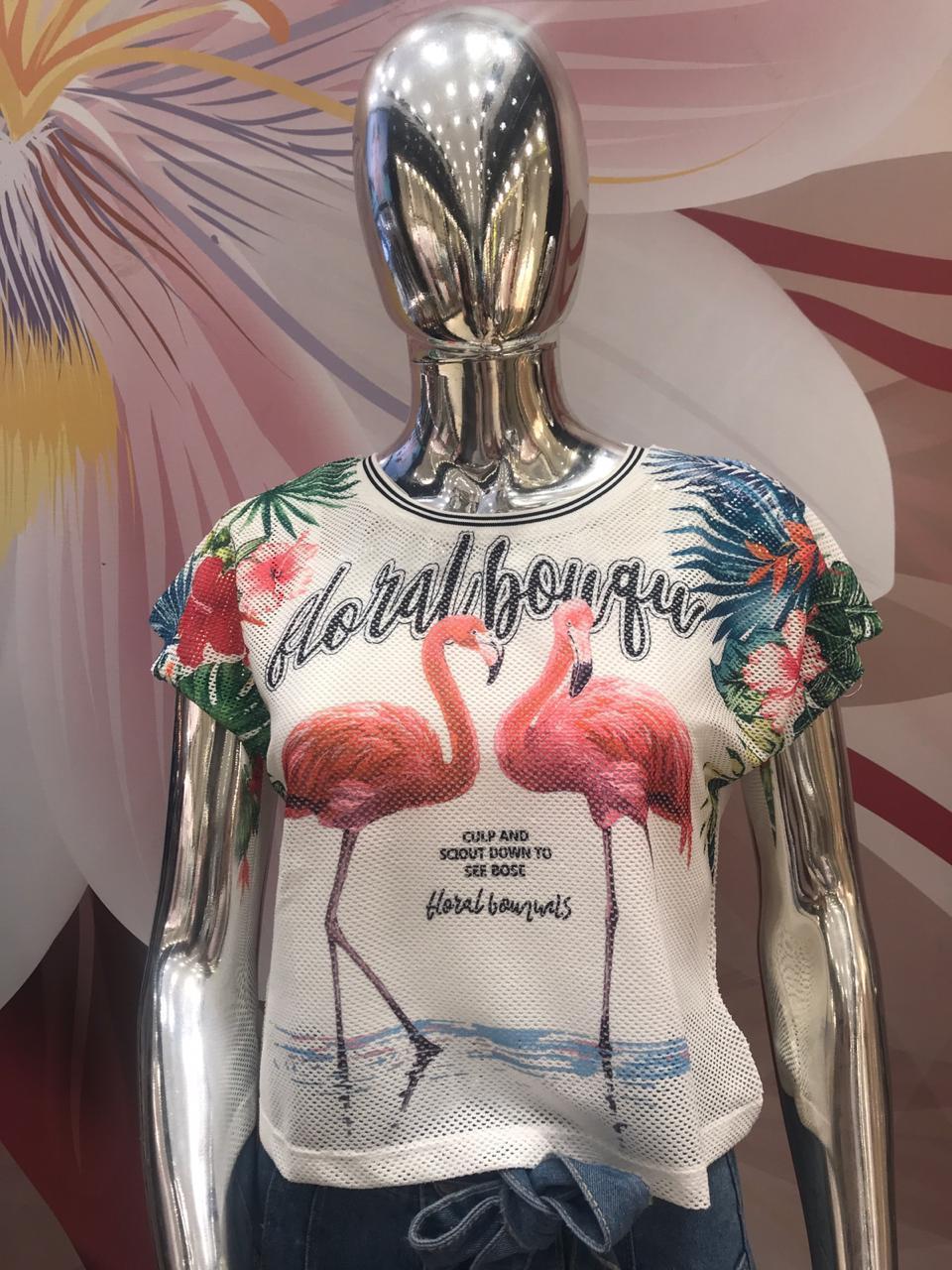 T-shirt Feminina-2017