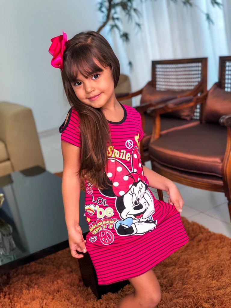 Vestido Infantil  Fem-0009