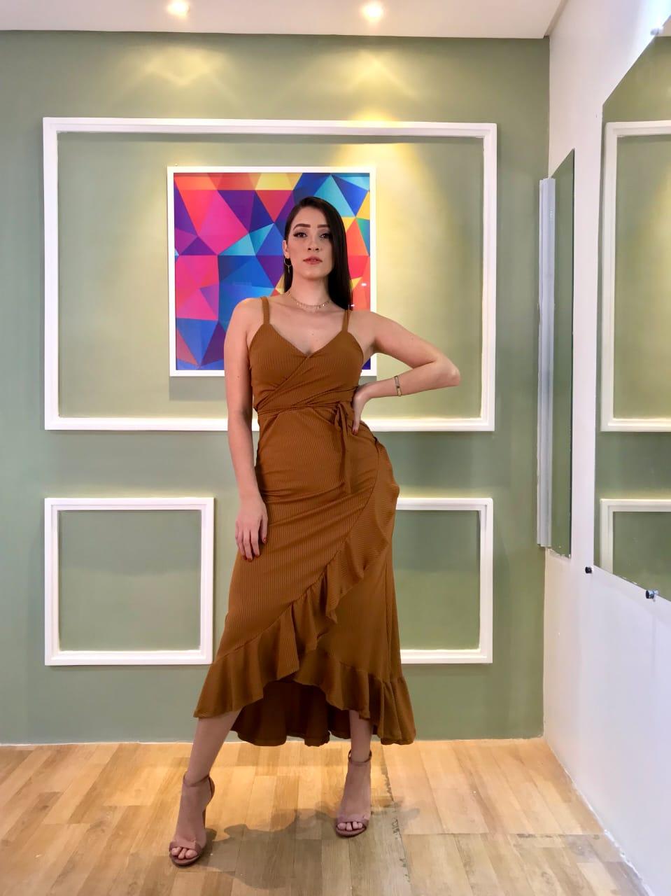 Vestido Longo Fem-6022