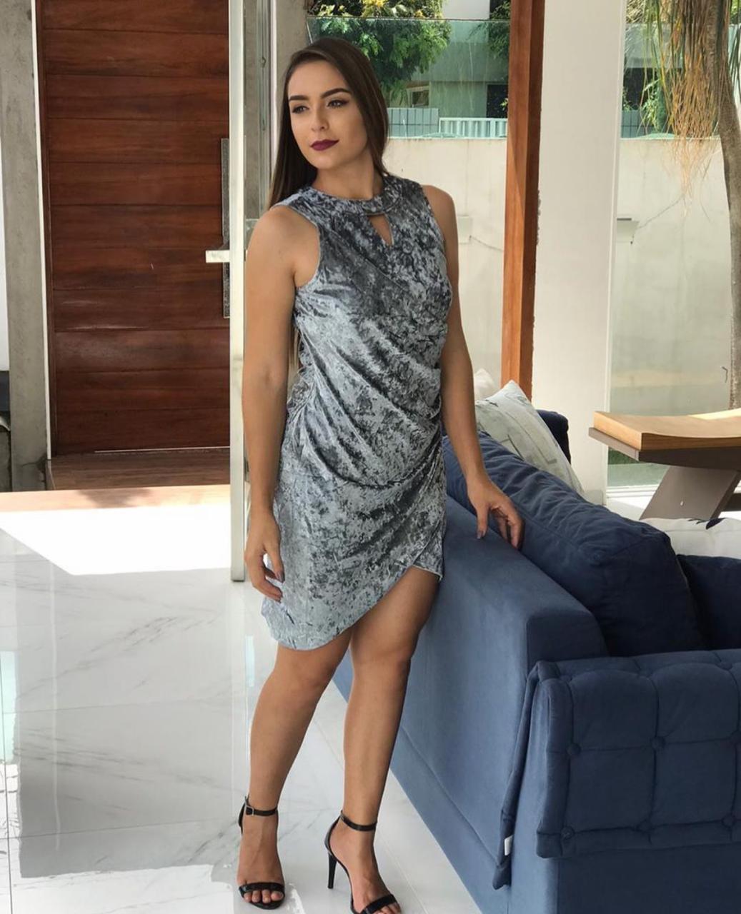 Vestido Veludo-1104