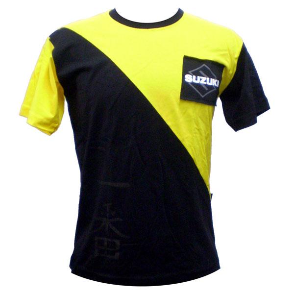 Camiseta Joc Suzuki Samurai Amarela  - Motosports
