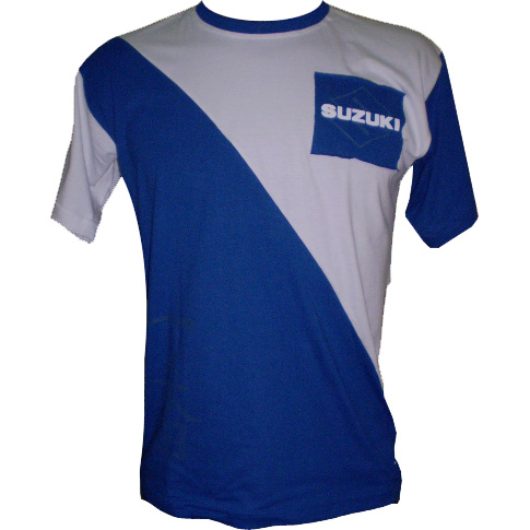 Camiseta Joc Suzuki Samurai Azul  - Motosports