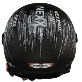 Capacete Nexx X60 B&W  - Motosports