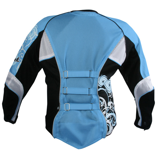 Jaqueta Joe Rocket Cleo feminina Azul  - Motosports