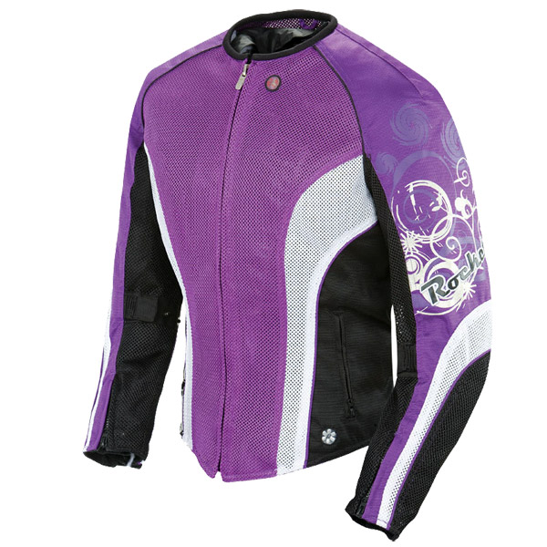 Jaqueta Joe Rocket Cleo feminina Roxa  - Motosports