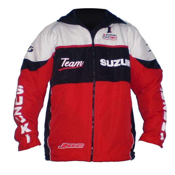 Jaqueta Suzuki Team Vermelha  - Motosports
