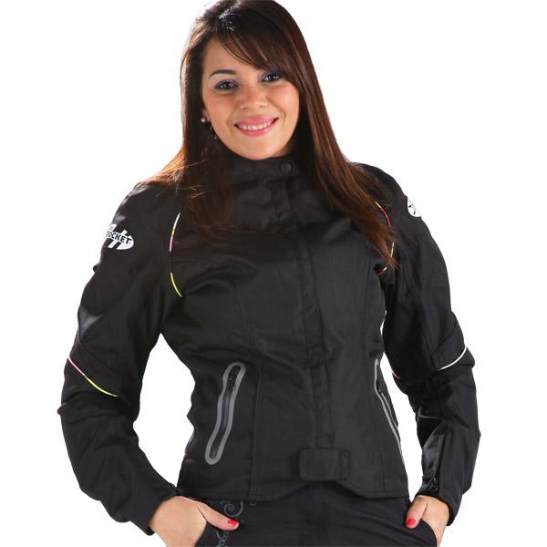 Jaqueta Joe Rocket Luna Feminina - 100% Impermeável  - Motosports