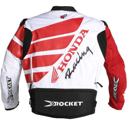 Jaqueta Joe Rocket Réplica Honda + Luva Honda  - Motosports