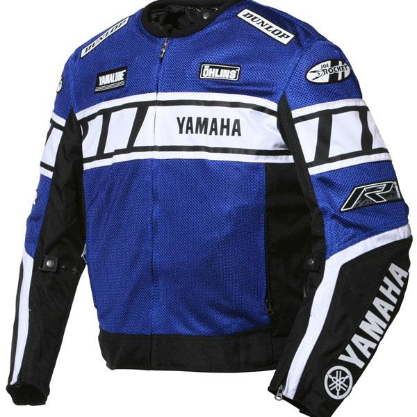 Jaqueta Joe Rocket Yamaha Champion Mesh Azul  - Motosports