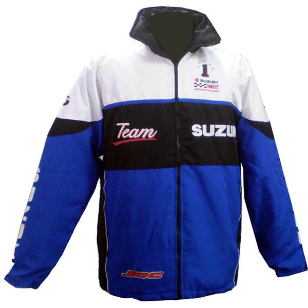 Jaqueta Suzuki Team Azul  - Motosports