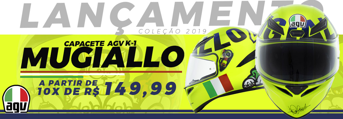 Capacete AGV k-1 MUGIALLO