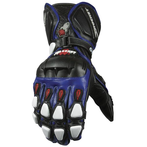 Luva Joe Rocket GPX 2.0 azul  - Motosports