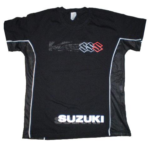 Camiseta Suzuki Ventilada Feminina  - Motosports