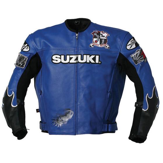 Jaqueta Joe Rocket Suzuki Vertical Azul  - Motosports
