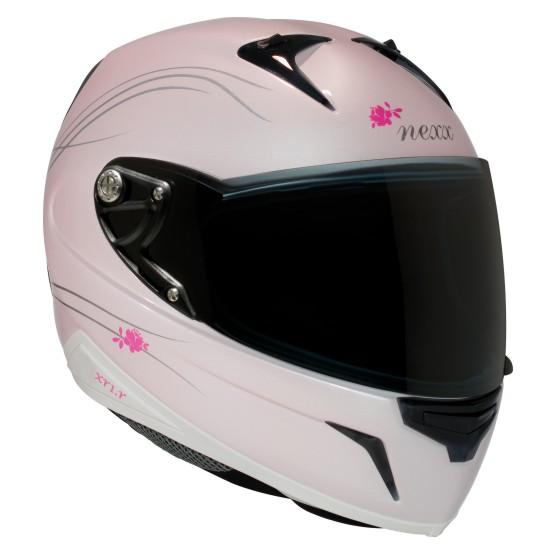 Capacete Nexx XR1R Glam Rosa perolado  - Motosports