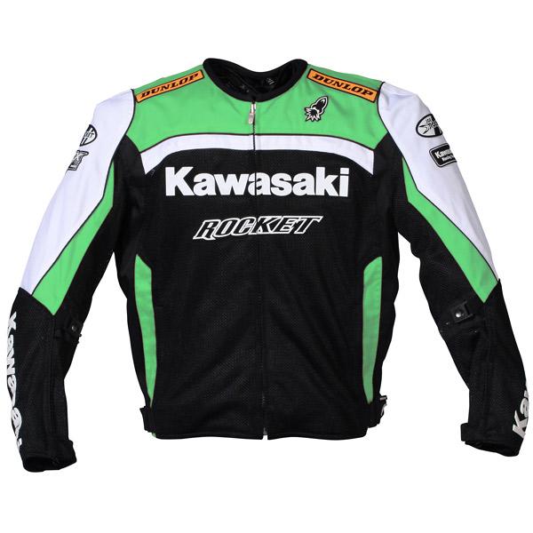 Jaqueta Joe Rocket Réplica Kawasaki Mesh  - Motosports