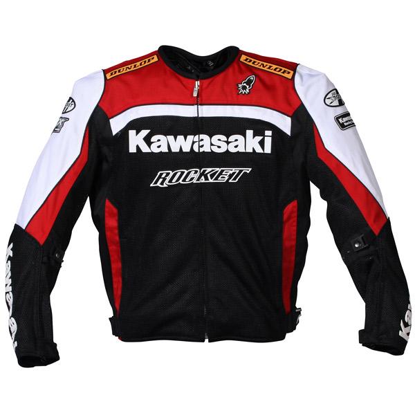Jaqueta Joe Rocket Réplica Kawasaki Mesh - Vermelha  - Motosports