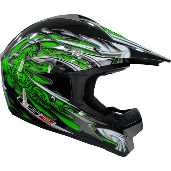 Capacete LS2 MX433 Caos Vermelho  - Motosports