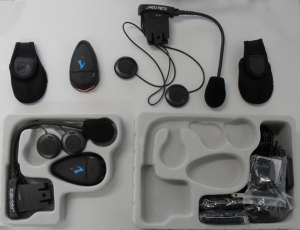 Intercomunicador Cardo Scala Rider Q2 MultiSet  - Motosports