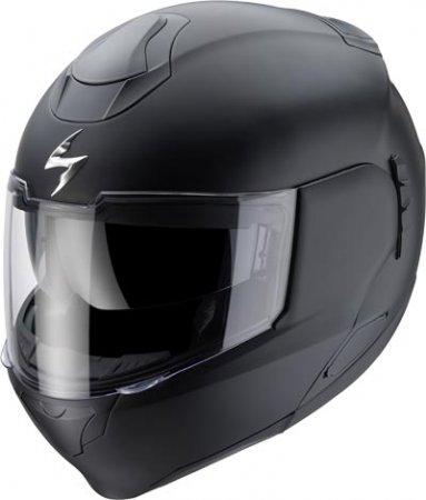 Capacete Scorpion Exo 900 Solid Matt Black  - Motosports