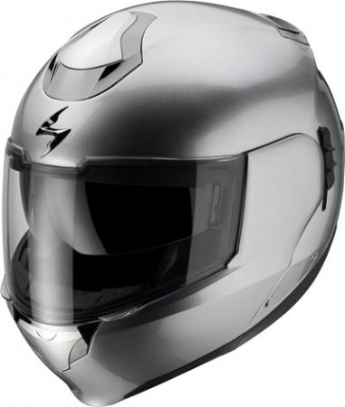 Capacete Scorpion Exo 900 Silver Gloss  - Motosports