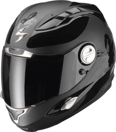 Capacete Scorpion Exo 1000 Sublim Black Gloss  - Motosports