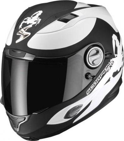 Capacete Scorpion Exo 1000 Sublim White Gloss  - Motosports
