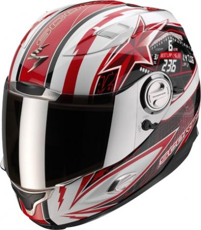 Capacete Scorpion Exo 1000 Speedster Red Gloss  - Motosports