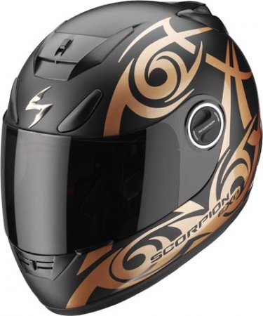 Capacete Scorpion Exo 750 Tribal Black Bronze  - Motosports